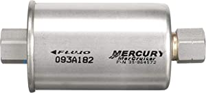 Quicksilver Replacement in-Line Fuel Filter 864572 - for MerCruiser Stern Drive and Inboard Gasoline Engines