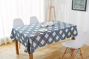Festliche Tischdecken Eckig Für Draußen Deko Tischdecke Kariert