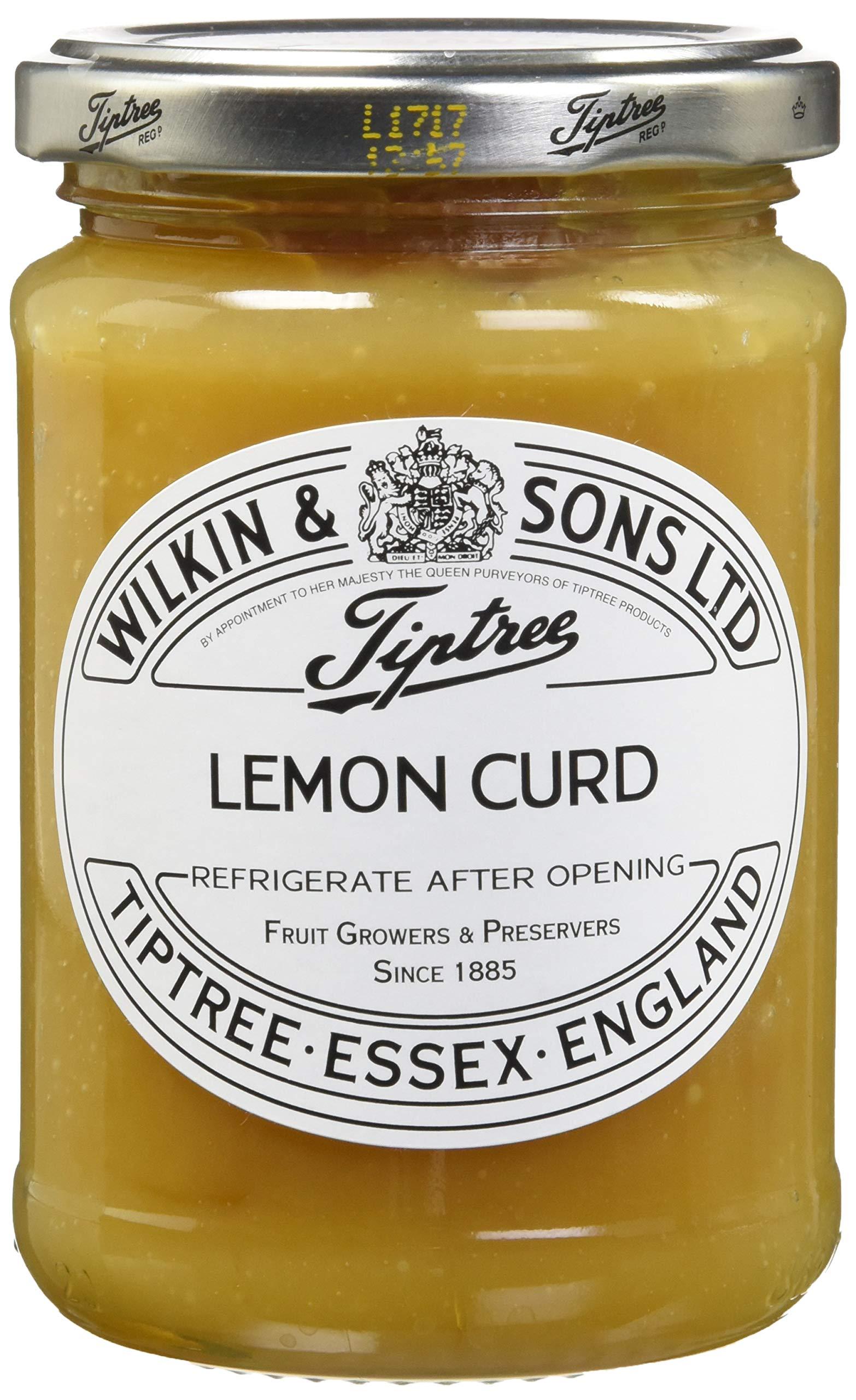 Tiptree Lemon Curd, 11 Ounce Jars (Pack of 2) by Tiptree