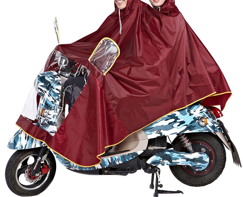 MRxcff Impermeable Raincoat Women//Men Thick Motorcycle Rainwear Poncho Oxford Rain Coat Women Waterproof Rain Gear Poncho