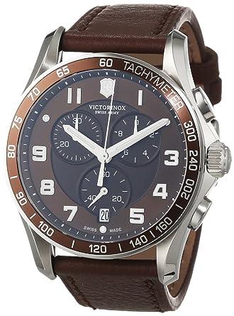 Victorinox 241653 - Reloj, Correa de Cuero Color marrón: Amazon.es: Relojes