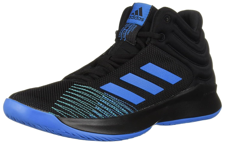 adidas Men's Pro Spark 2018 Basketball Shoe B077X4YL8W 7.5 D(M) US|Black/Bright Blue/Black