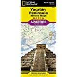 Yucatan Peninsula: Riviera Maya [Mexico] (National Geographic Adventure Map, 3105)