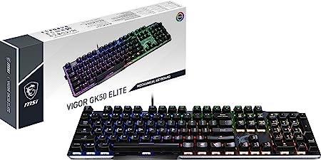 MSI Vigor GK50 Elite - Teclado Gaming en Español, RGB