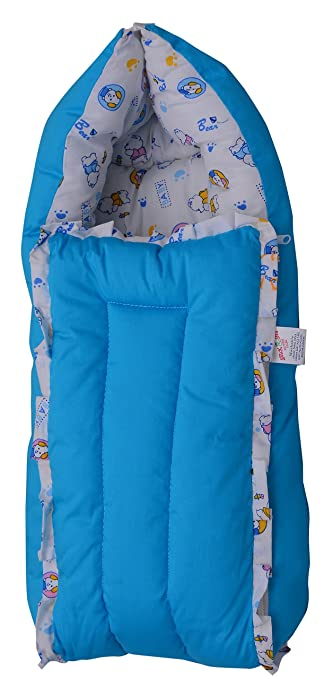 Buy Jack Jill Poly Cotton Bedding Set For Newborn Small Floral Blue Online At Low Prices In India