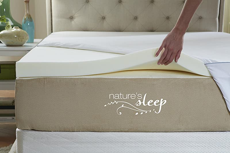 2. Visco Elastic Memory Foam Mattress Topper