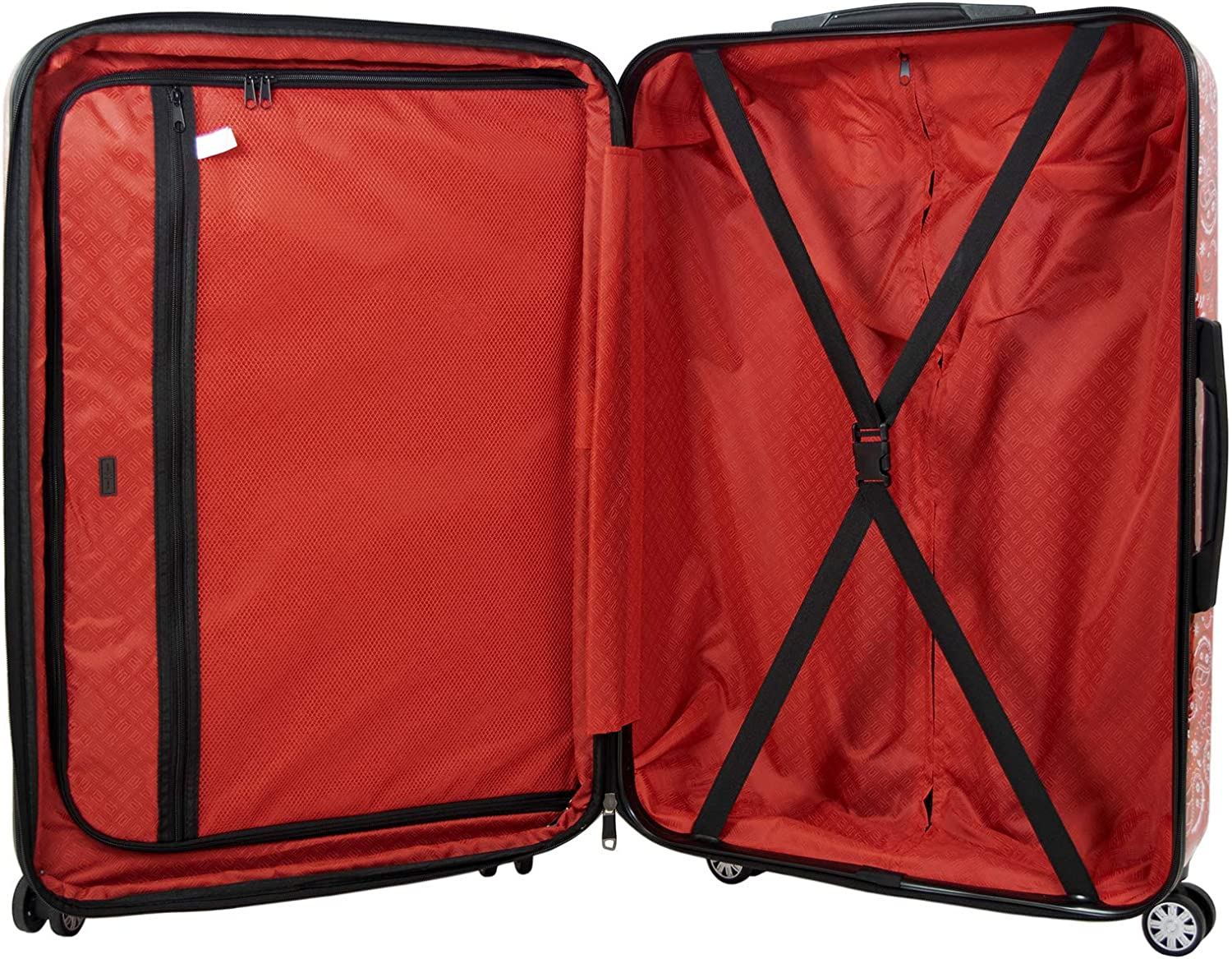 Red ful Womens Luggage