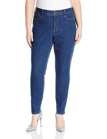 6d54bc9611e NYDJ Women s Plus Size Alina Skinny Jeans at Amazon Women s Clothing store