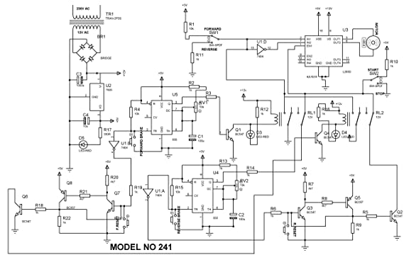 Buy Edgefx Four Quadrant Dc Motor Control Without Microcontroller Do