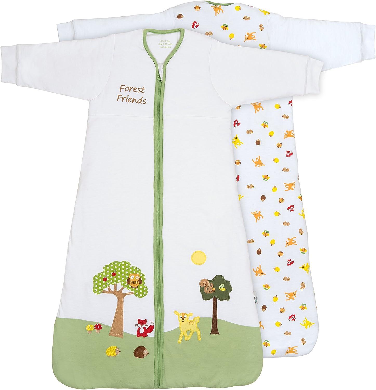 Slumbersafe Winter Baby Sleeping Bag Long Sleeves 3.5 Tog 0-6 months//SMALL Little Birdie