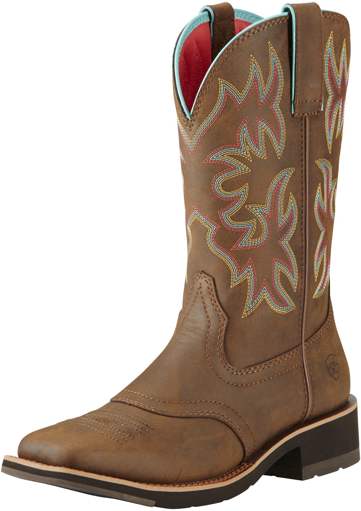 Ariat Women's Delilah Work Boot, Toasted Brown, 9 B US by Ariat