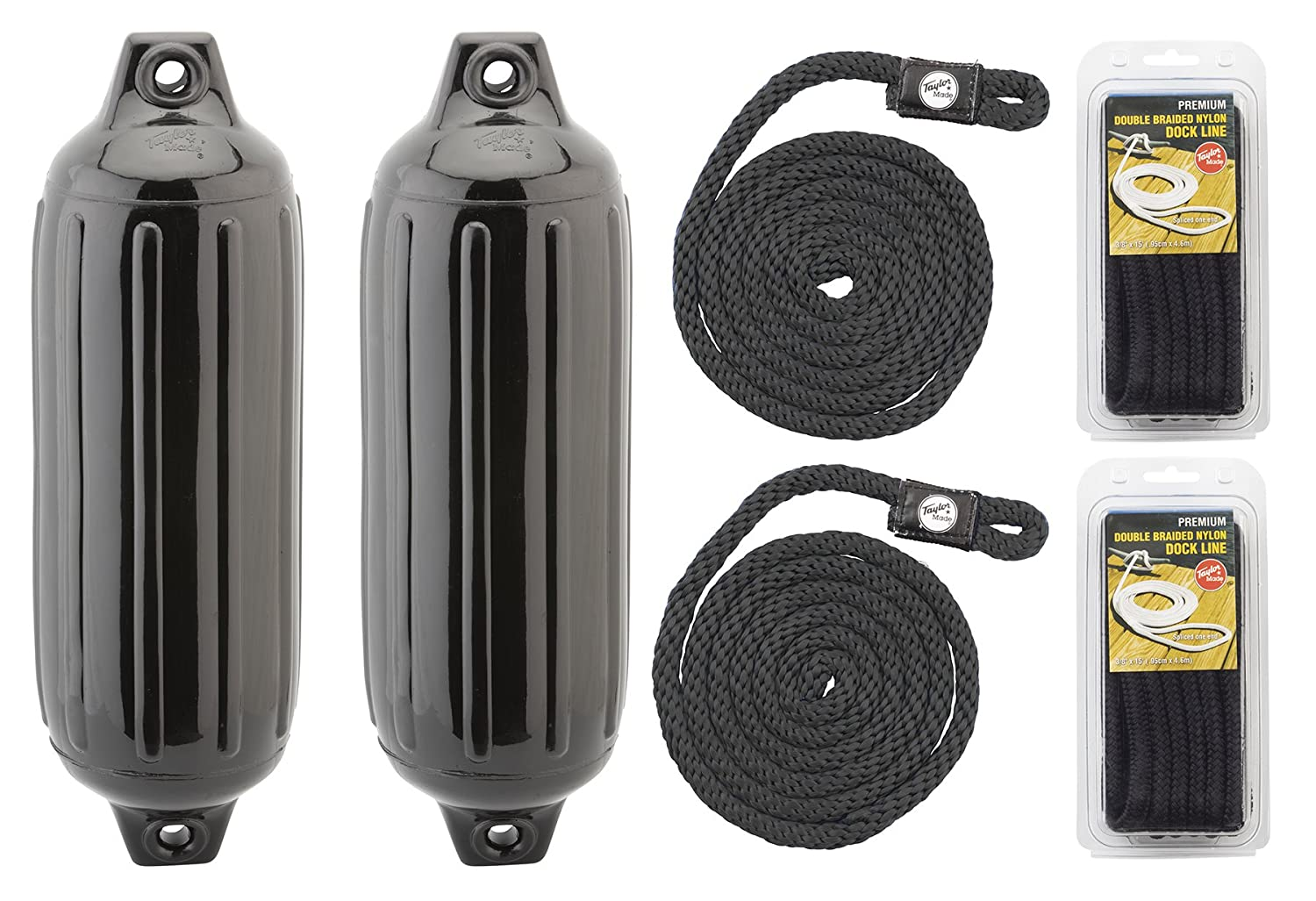 Taylor Made Products Super Gard Fender Bundle with Dock and Fender Lines
