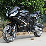 DONGFANG DF50SST 50cc Super Bike Ninja Scooter Moped Bicycle Black