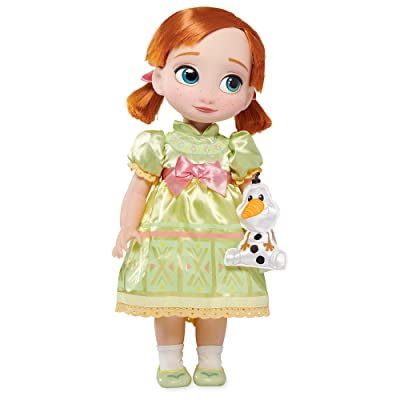 Disney Animators' Collection Anna Doll - Frozen - 16 Inches: Toys & Games