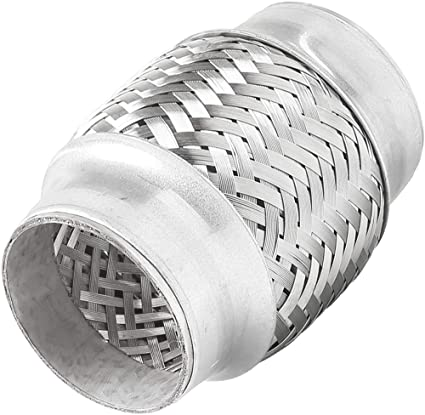 """TOTALFLOW TF-57150 Stainless Steel Double Braided Exhaust Flex Pipe-2.25/"""" ID x"""
