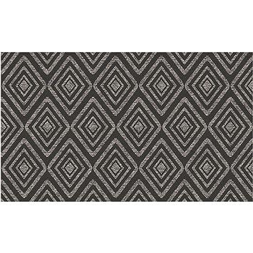 Amazon.com: ruggable Prism Negro Lavable interior/exterior ...