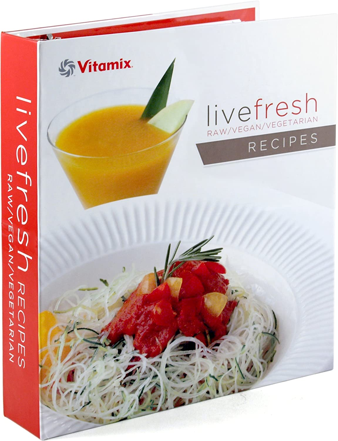 Amazon vitamix live fresh raw vegan and vegetarian recipe amazon vitamix live fresh raw vegan and vegetarian recipe book for turboblend vs machines electric countertop blenders kitchen dining forumfinder Choice Image