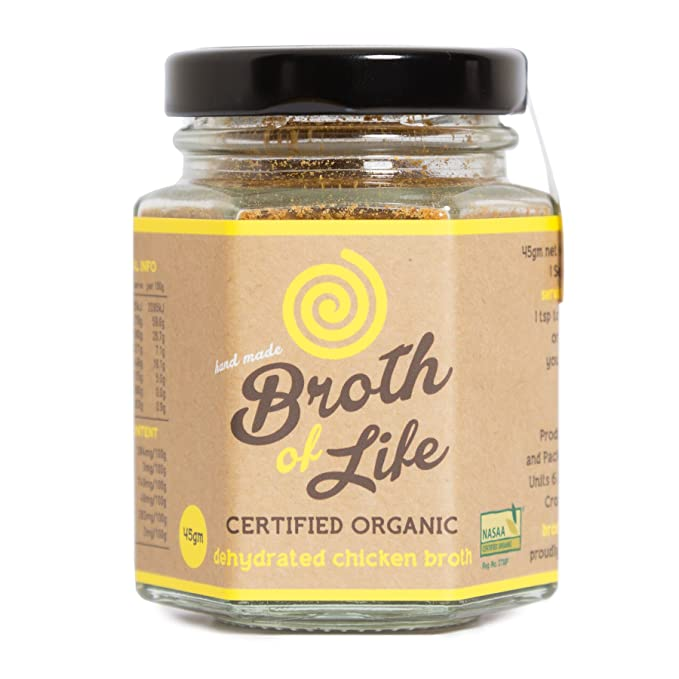 Organic Chicken Bone Broth Powder - Supports Joint Health, Boost Immunity - Fresh, Natural