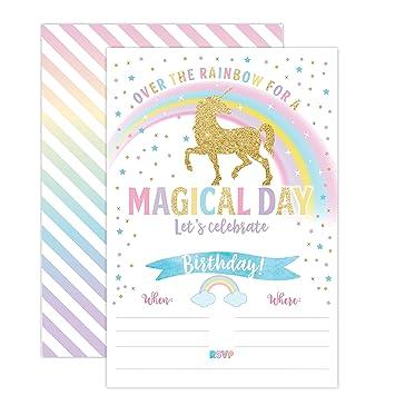 amazon unicorn birthday invitation unicorn party invite 20 fill