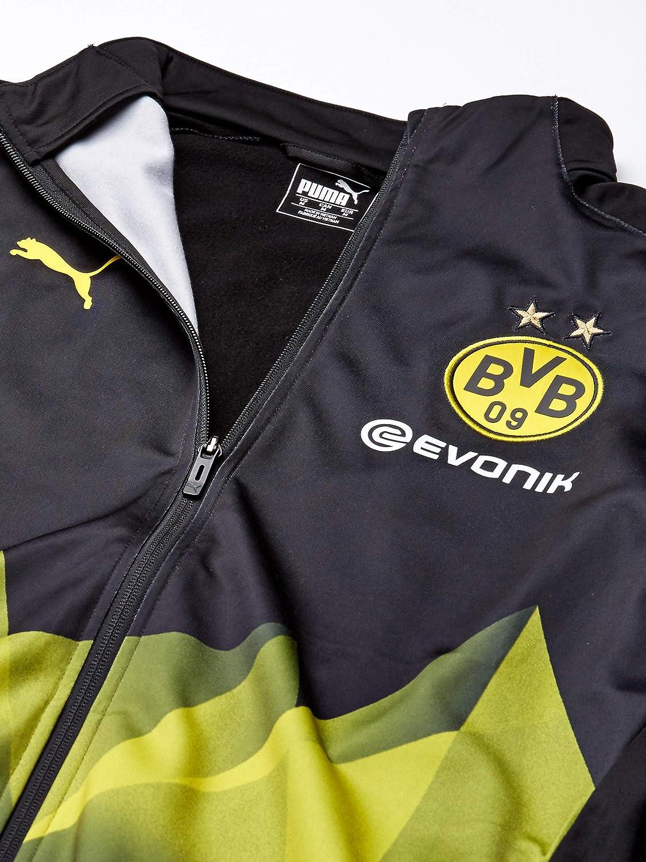 PUMA Herren BVB Intl Stadium Jacket with Evonik Jacke