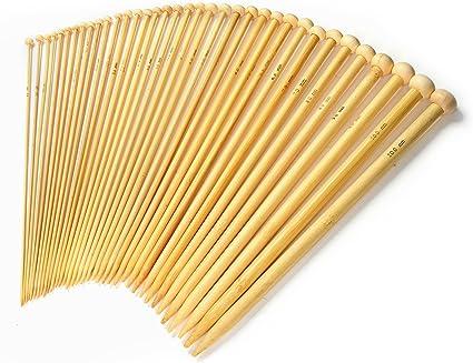 Bamboo Knitting Needles Set