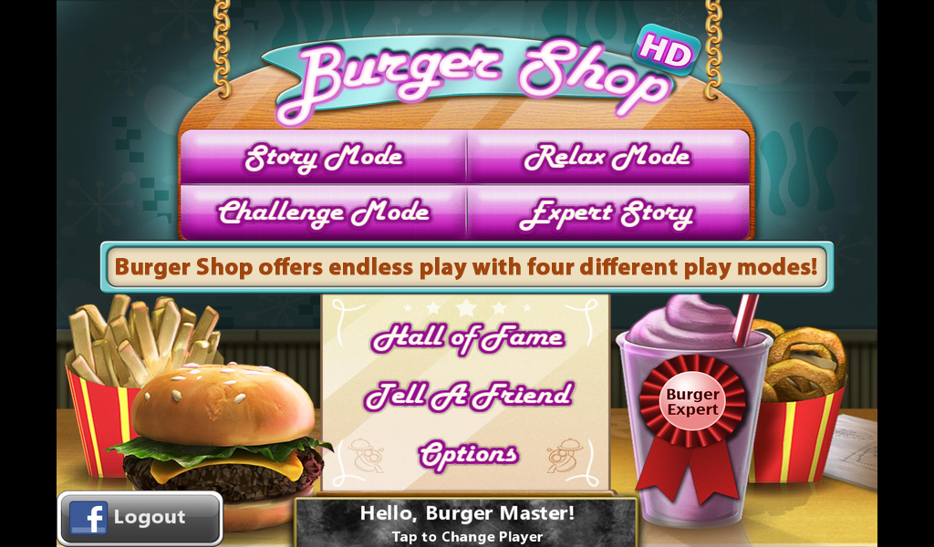 Burger shop for android download apk free.