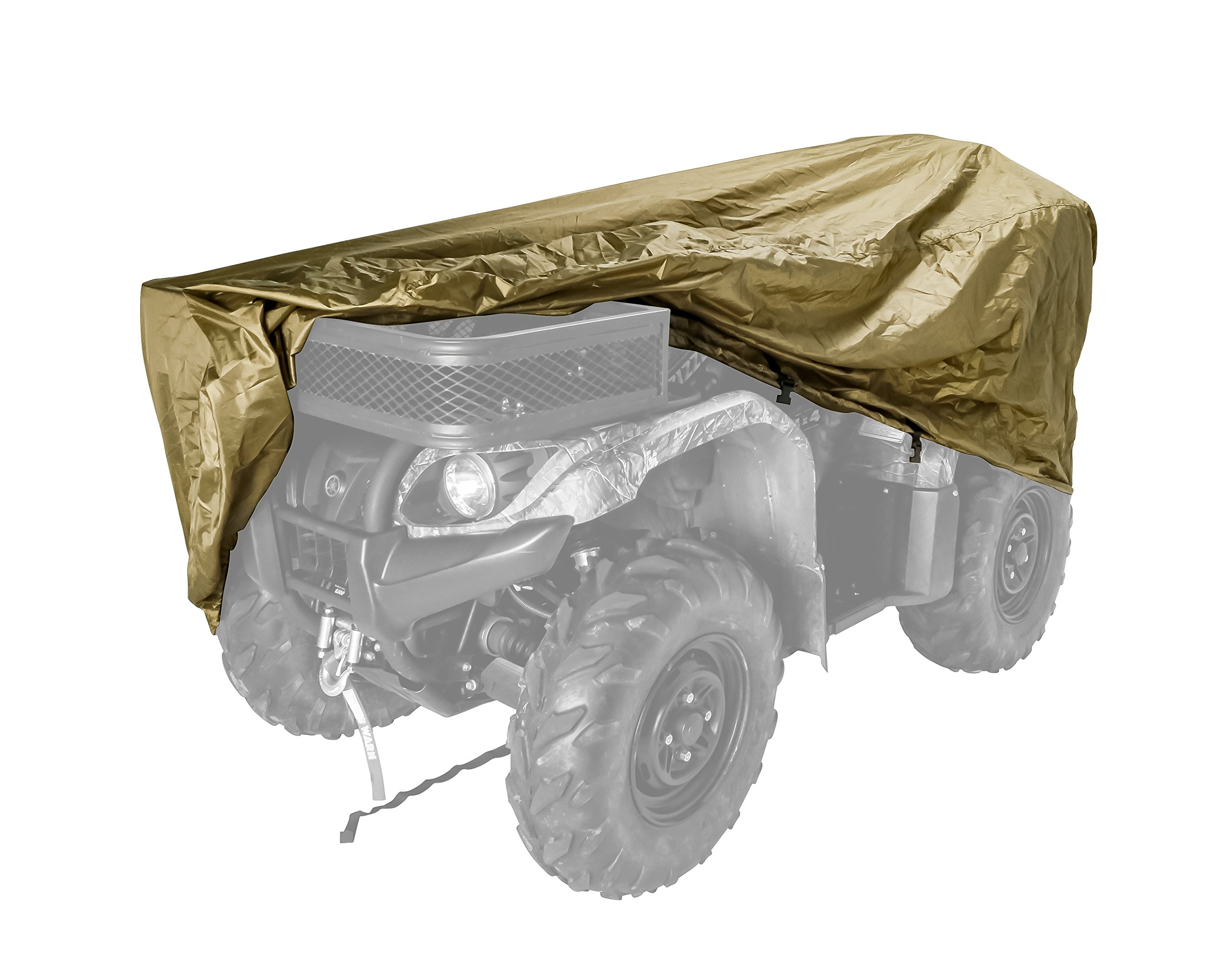Black Boar Extra Large ATV Cover (450cc and Up) - Olive Drab, Protect Your ATV from Rain, Snow, Dirt and Damaging UV Rays While in Storage (66020)