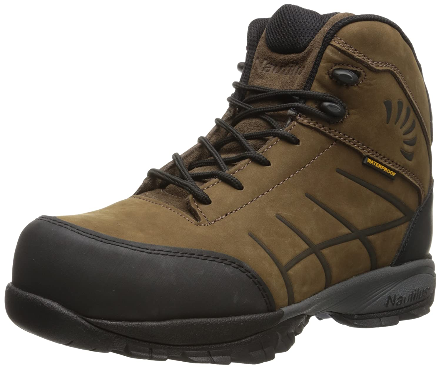 Nautilus Safety Footwear メンズ ブラウン 9.5 2E US 9.5 2E USブラウン B00ETQ2F7M