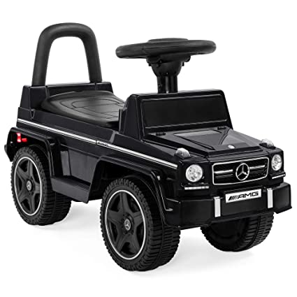 4817cad6ccb Best Choice Products Kids Toddler Luxury Mercedes G63 Convertible Cruiser  Foot-to-Floor Ride