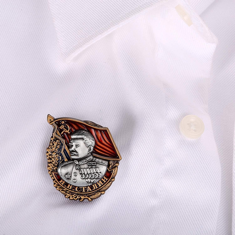 momoko hiroshi Soviet Socialism Stalin Badge Copy