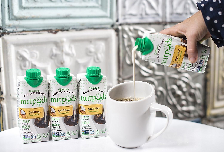 nutpods Dairy Free Creamer Unsweetened Vanilla Image 2