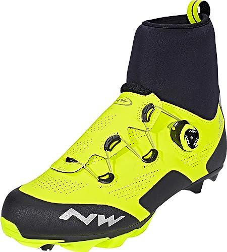 Northwave Raptor Arctic GTX - Zapatillas - Performance Line amarillo/negro Talla del calzado 40 2017: Amazon.es: Zapatos y complementos