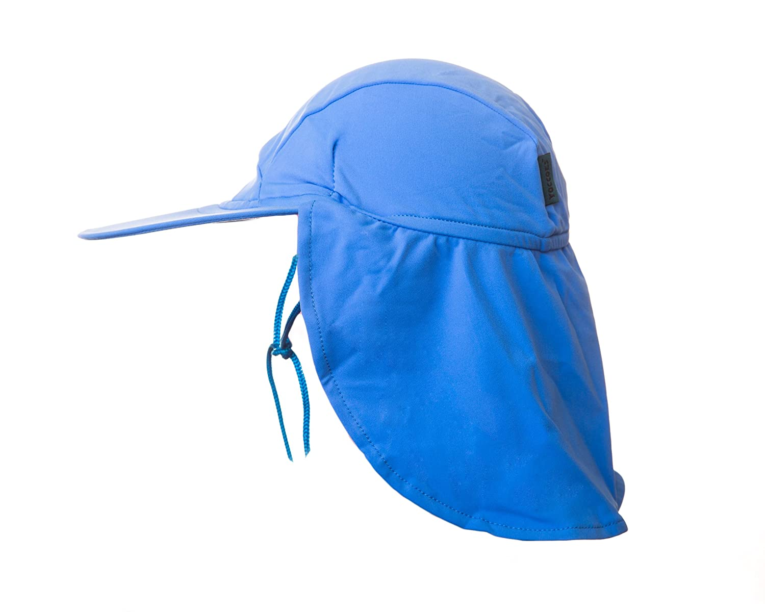 Yoccoes Designs Baby and Toddler UV Sun Hat Blue (S (Baby 9 - 18 months))