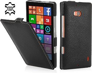 StilGut housse UltraSlim en cuir pour Nokia Lumia 930, en noir