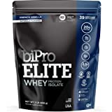 BiPro Elite 100% Whey Isolate Protein NSF Certified, Vanilla, 2 Pound