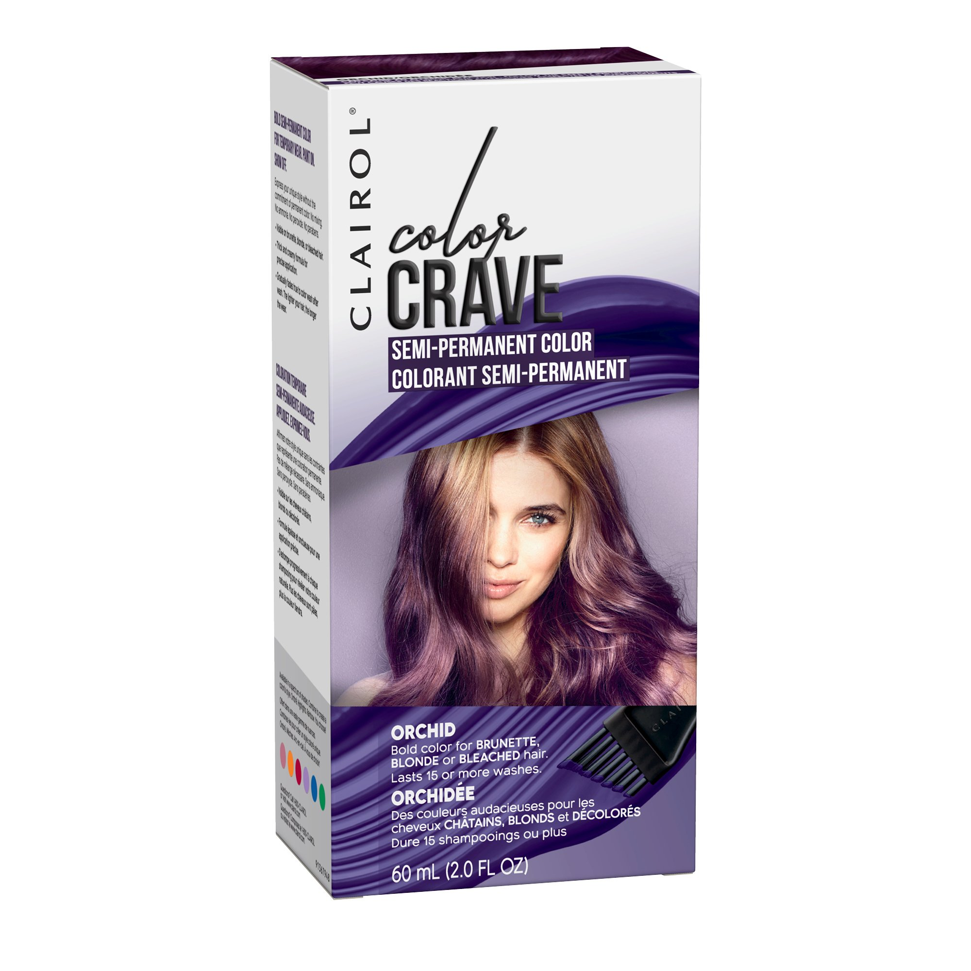 2019 year for women- Permanent Semi hair color purple