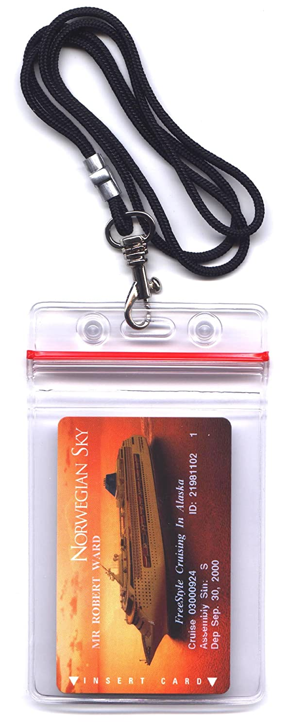 Money & ID Holder (Water resistant) - Men's 34 Inch Lanyard National Leash Company