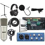 Presonus AudioBox 96 USB 2.0 Audio Interface Studio Bundle with Studio One Artist Software Pack (Interface Color May…