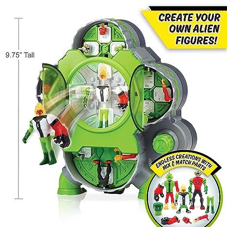 amazon com ben 10 alien creation chamber toys games