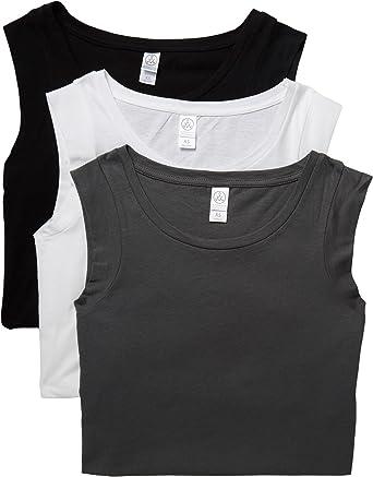 4385b44d845 Alternative Women s The 3 Luxe Crew Cap Sleeve Shirt Set at Amazon ...