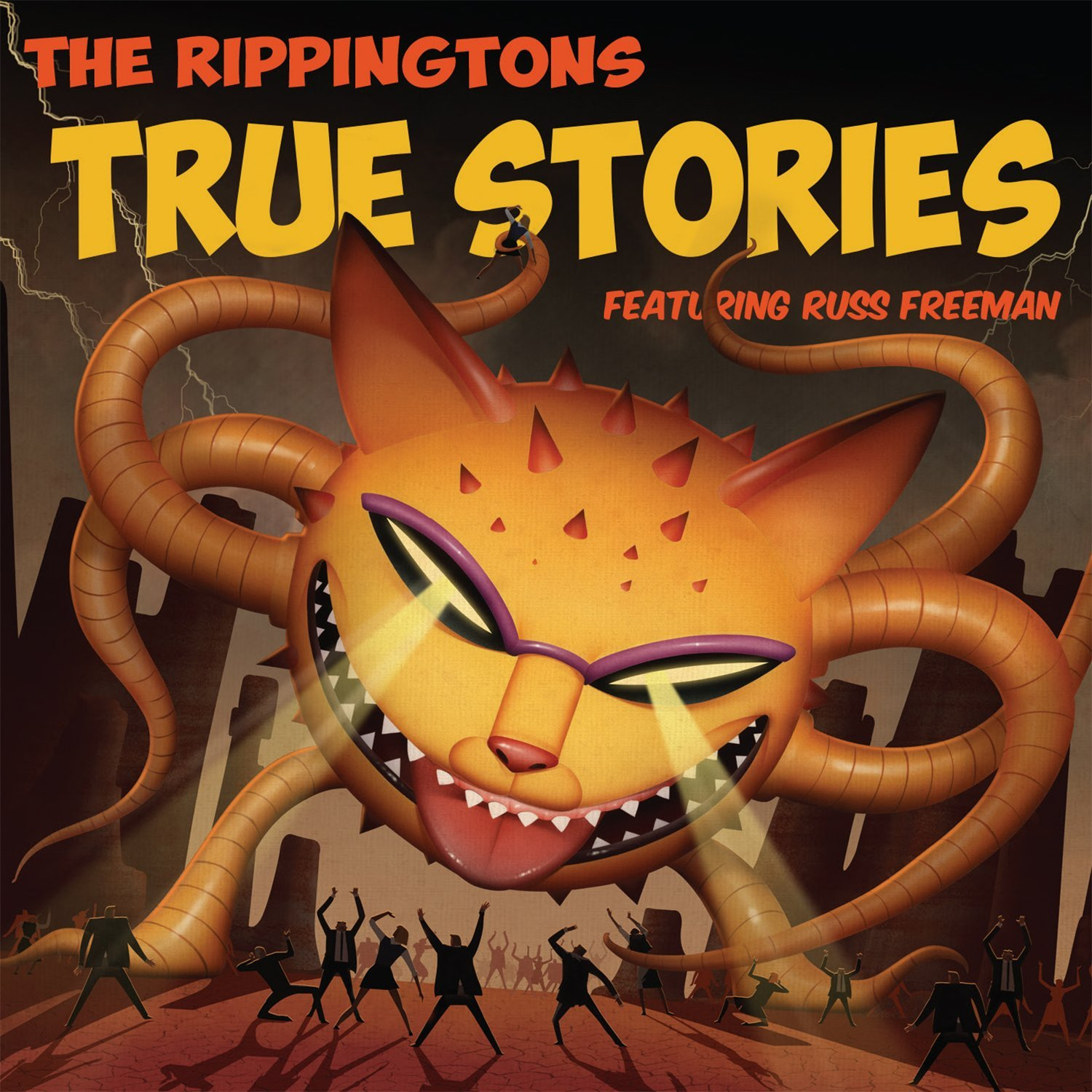 Book Cover:                                                                             True Stories