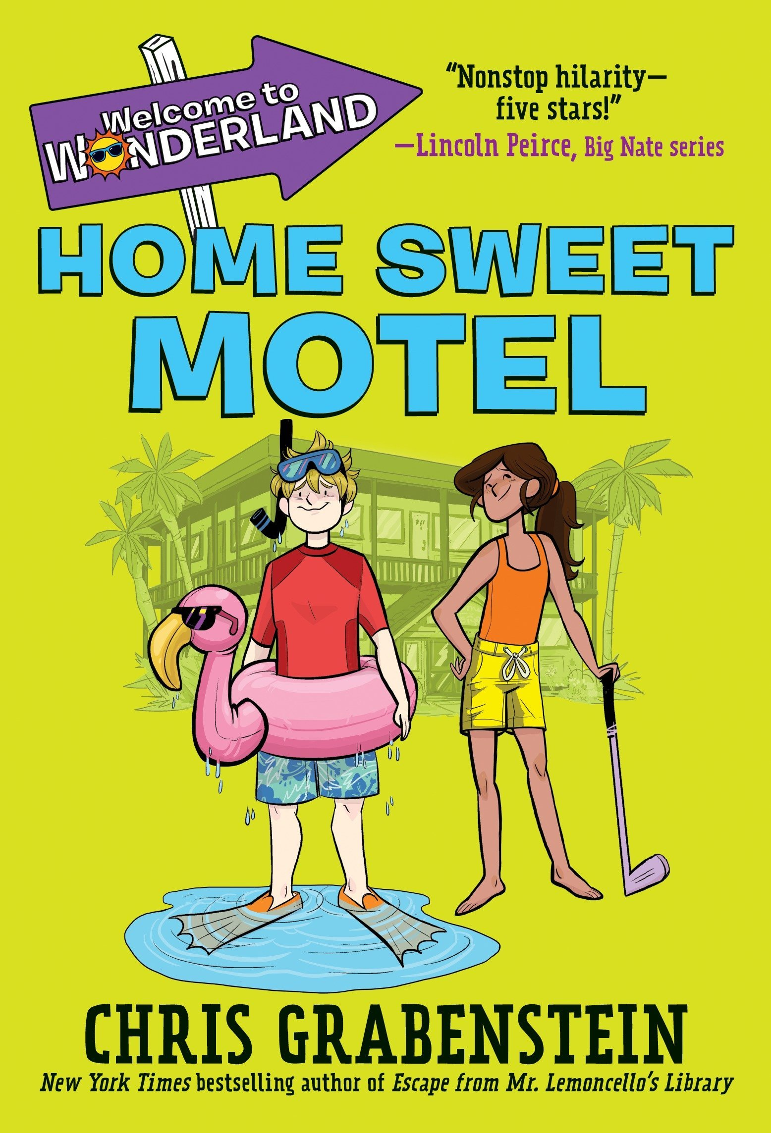 Read Online Welcome to Wonderland #1: Home Sweet Motel pdf epub