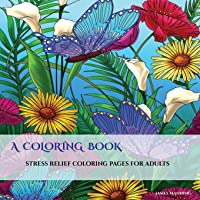 A Coloring Book: An adult coloring book: With coloring pages for mandalas, coloring pages for flowers and butterflies, coloring book pages for geometric designs, and abstract coloring pages