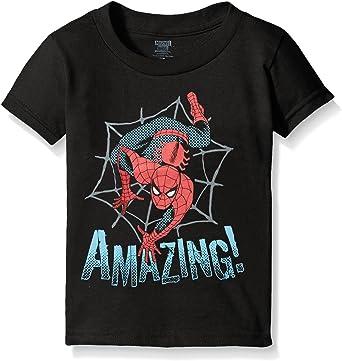 Toddler Boys 2T Marvel Avengers Spider Man Graphic Short Sleeve Tee Shirt-Size