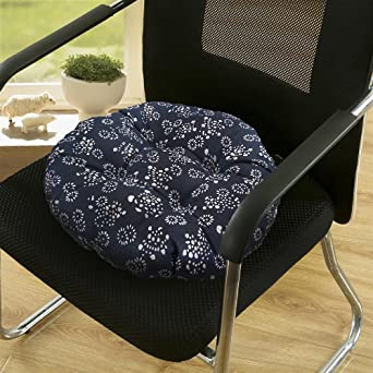 Cojín redondo para silla de oficina de 14 pulgadas, suave ...