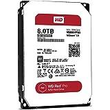 WD Red Pro 8TB 3.5-Inch SATAIII 7200rpm 128MB Cache NAS Internal Hard Drive (WD8001FFWX)
