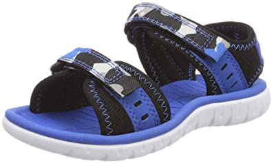 Clarks Boys  Surfing Coast Sling Back Sandals  Amazon.co.uk  Shoes ... 1936adcf4412