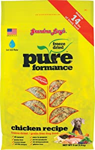 Grandma Lucy's PUREformance Dog Food, Grain Free and Freeze-Dried