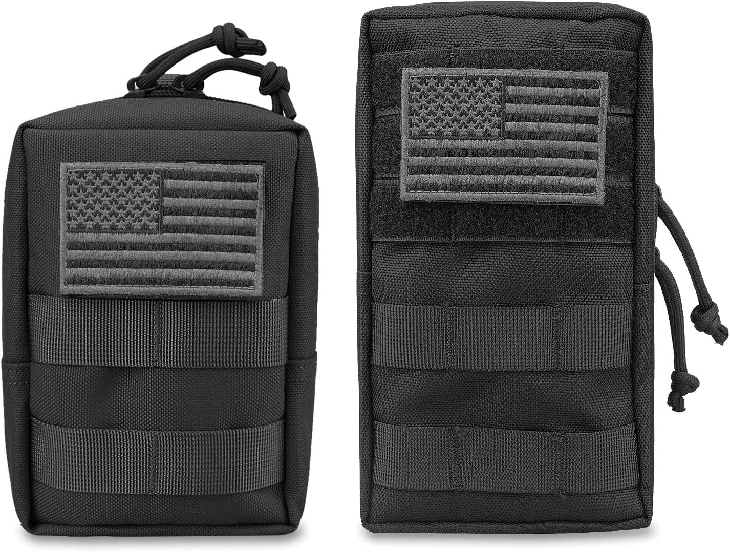 AMYIPO MOLLE Pouch Multi-Purpose Compact Tactical Waist Bags Small Utility Pouch