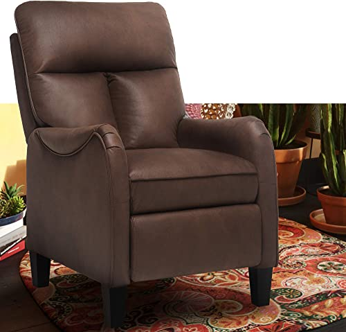 Recliner Chair Massage Mid Century Modern Tufted Reclining Single Sofa
